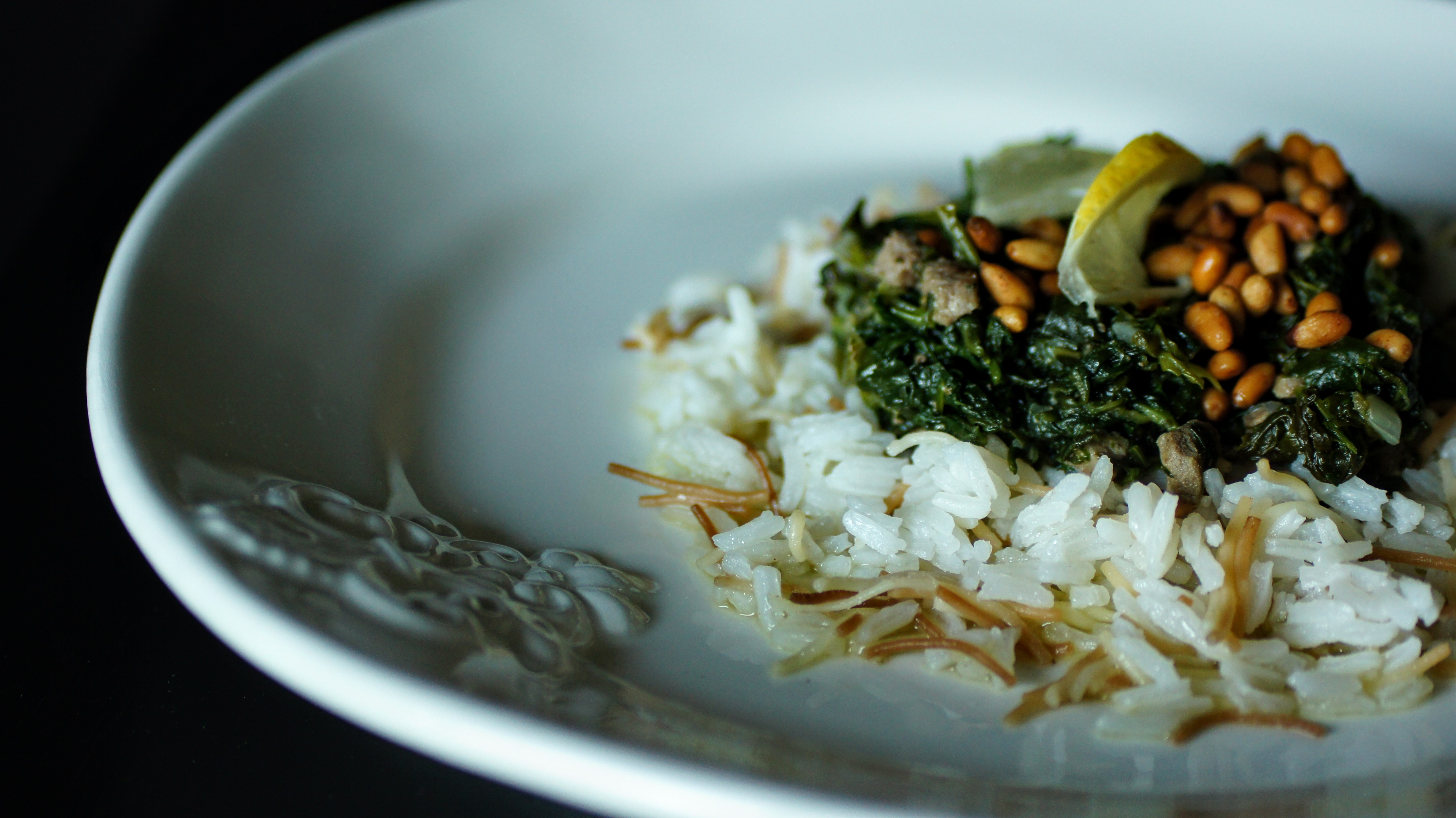 Spinach + Rice
