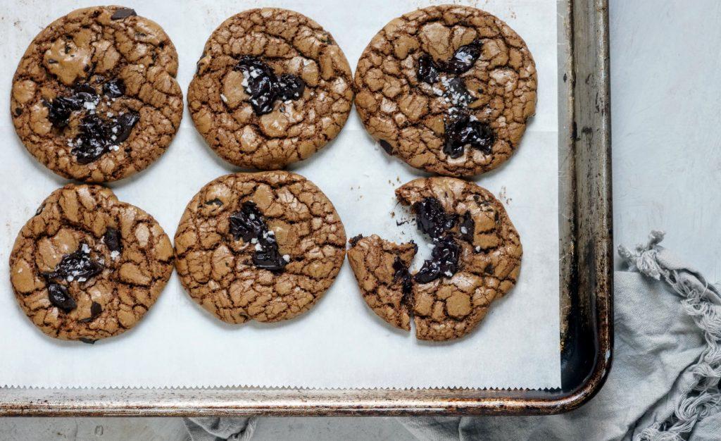 cookie, chocolate, olive oil, dessert