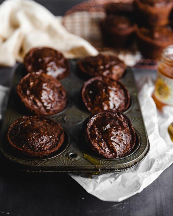 Molasses Raisin Bran Muffins