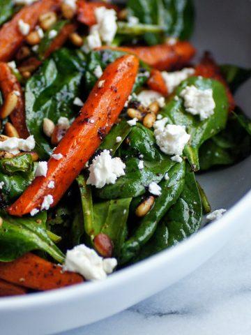 Sumac Carrot and Feta Salad