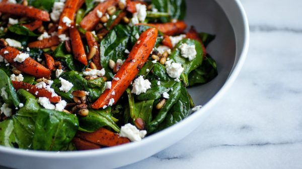 Sumac Carrot and Feta Salad