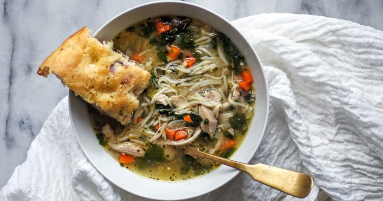 Mom Knows Best ~ Chicken Noodle Soup
