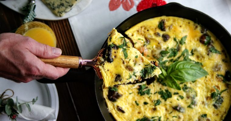 Hosted Brunch ~ Frittata