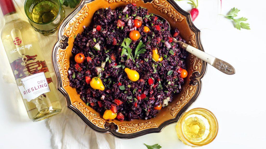 rice, Mediterranean, riesling, wine