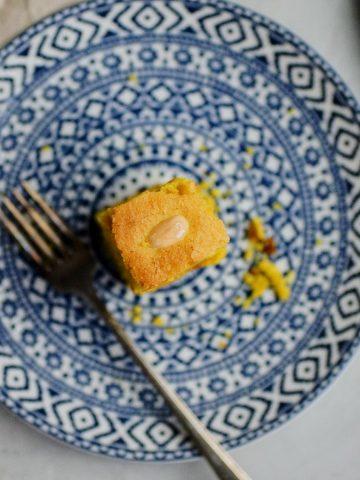 cake, breakfast, lebanese, semolina, taste
