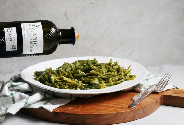 green beans, lebanese, olive oil, fresh, easy, vegetarian, vegan