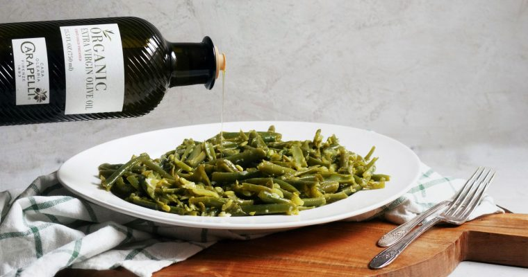 Loobieh bi Zeit (Green Beans with Oil)