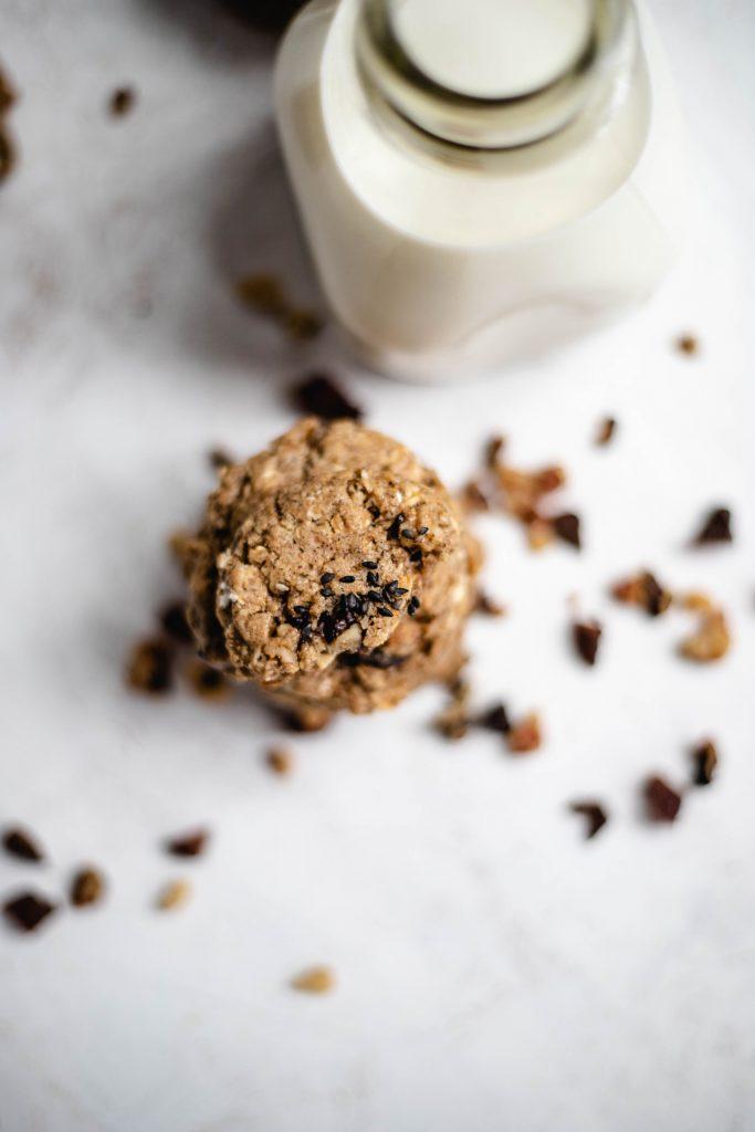 cookie, healthy, tahini, breakfast, lebanese