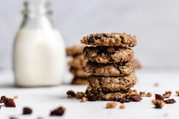cookie, healthy, tahini, breakfast