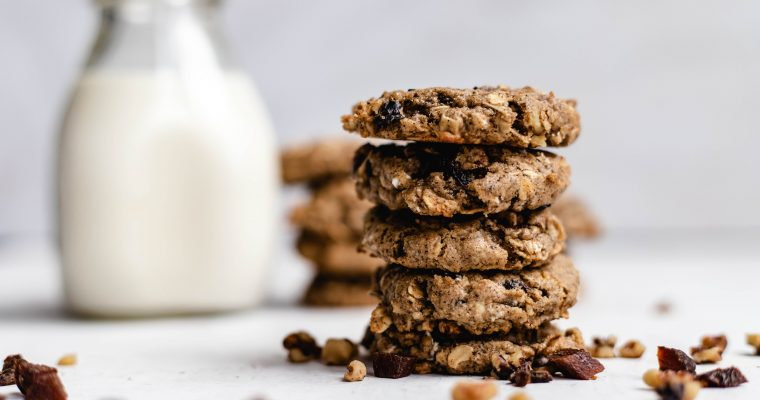 Tahini Breakfast Cookies