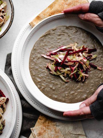lebanese, Mujadara, lentils, vegan, gluten free, dinner