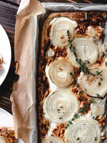 onion, tart, brunch, appetizer, super bowl, pie, butter