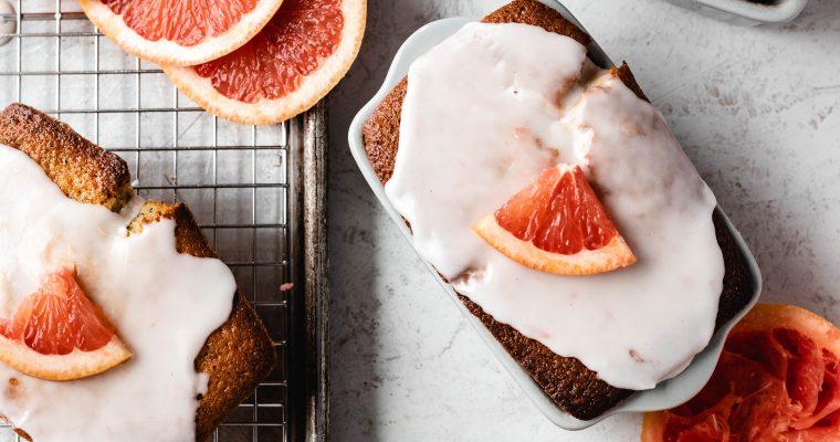 Grapefruit Poppy Bread