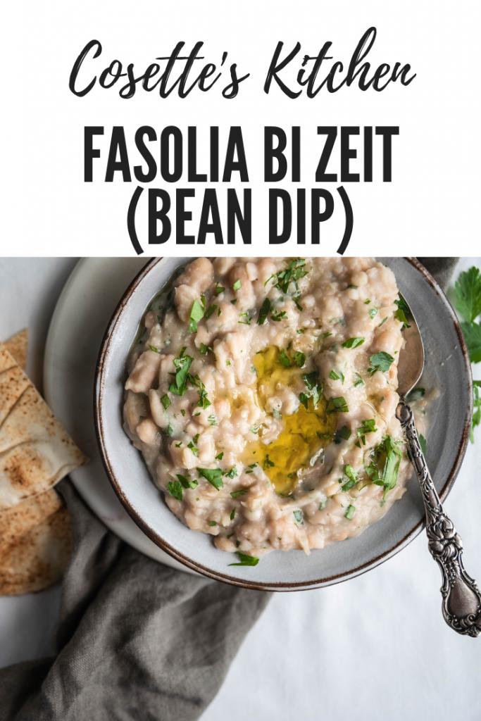 beans, fasolia, mezze, appetizer, vegan, vegetarian, gluten free, Lebanese
