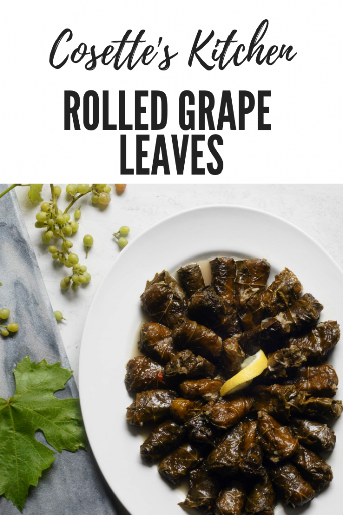 lebanese, vegan, vegetarian, dolmas, grape leaves, healthy