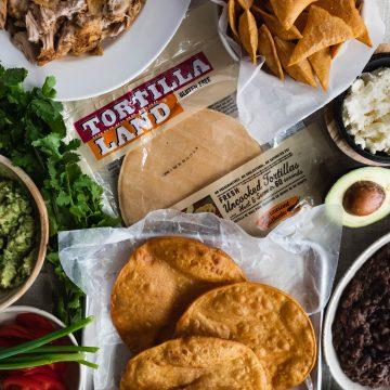tostadas, pork, mexican, cinco de mayo, Instant Pot