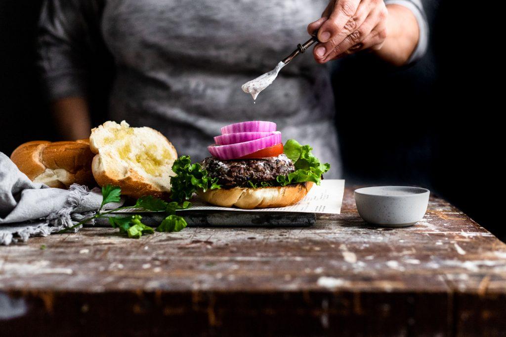 kefta, kafta, kofta, burger, Lebanese, Mediterranean, Memorial Day, picnic, bbq, grill