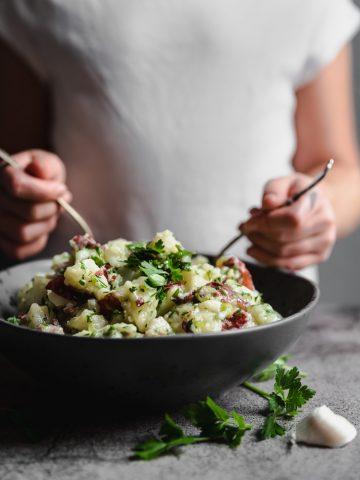 Lebanese Potato Salad