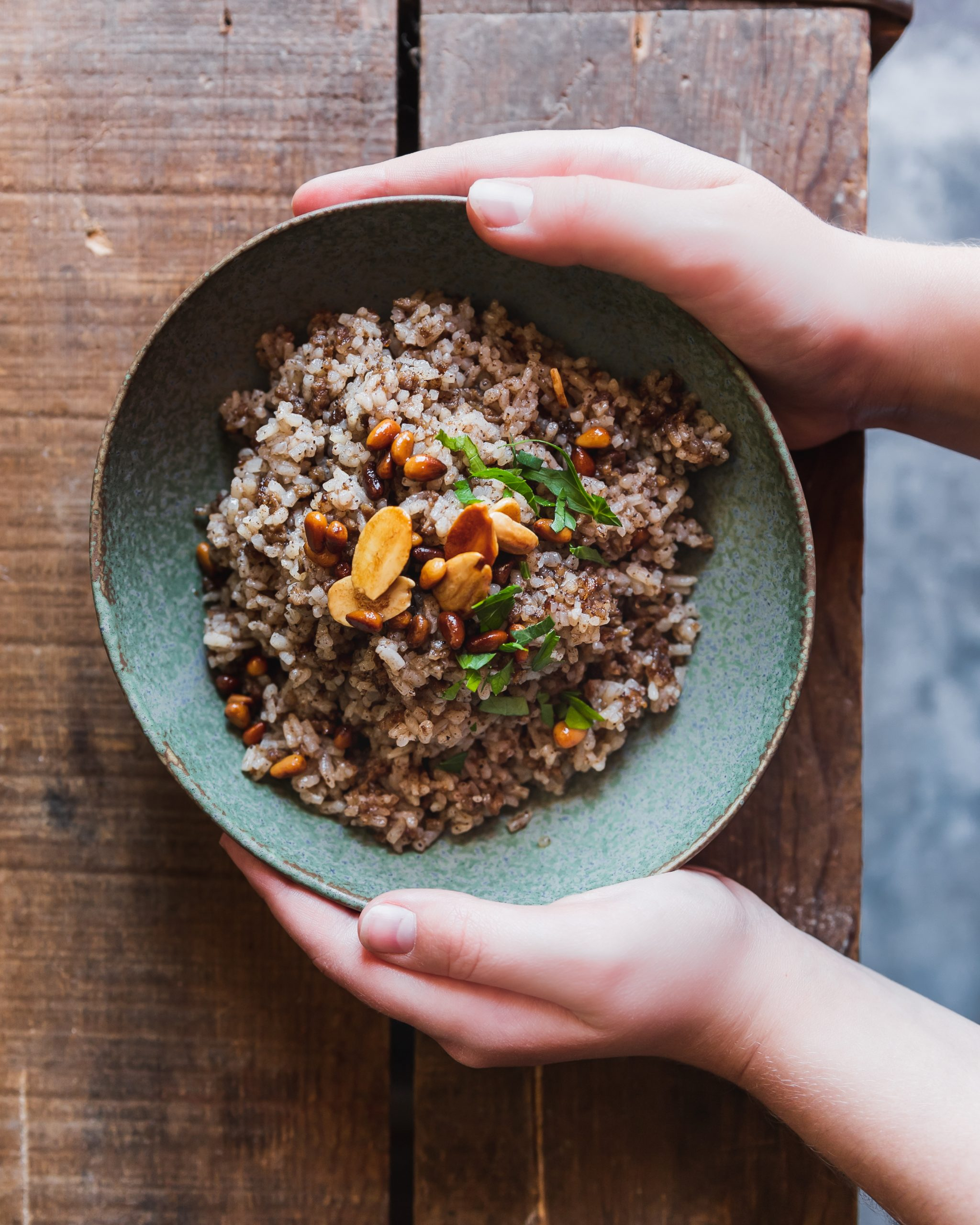 Lebanese Spiced Rice – Hashweh