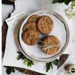 Cardamom Molasses Cookies