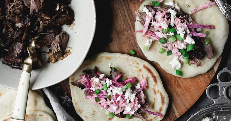 Lebanese Lamb Tacos: Tacos Arabes
