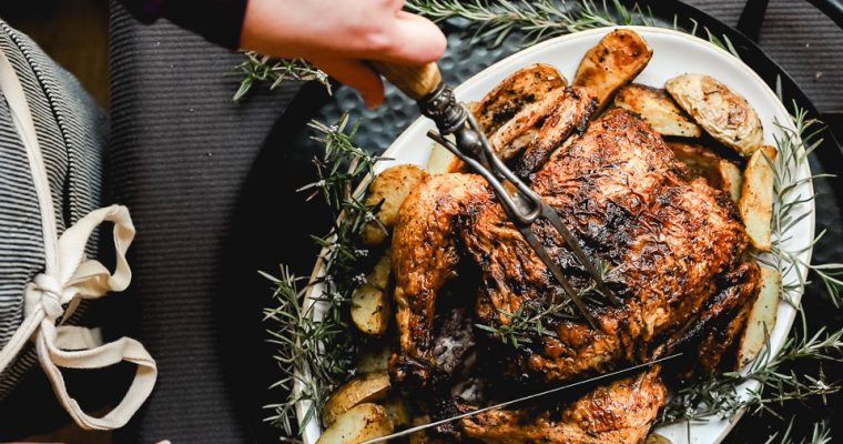 How to Roast Whole Chicken