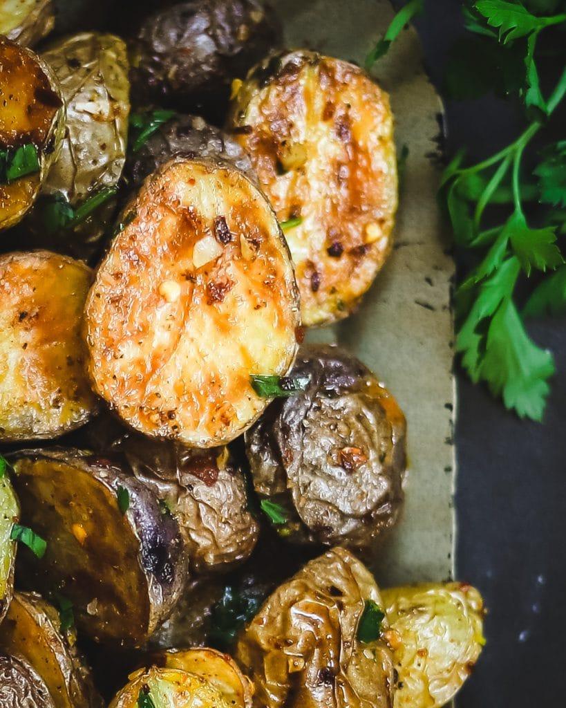 potato closeup